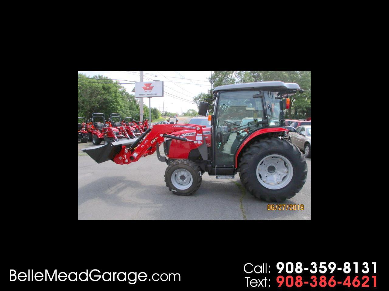 2019 Massey Ferguson Farm 1740MHL CAB 4X4 TRACTOR WITH LOADER