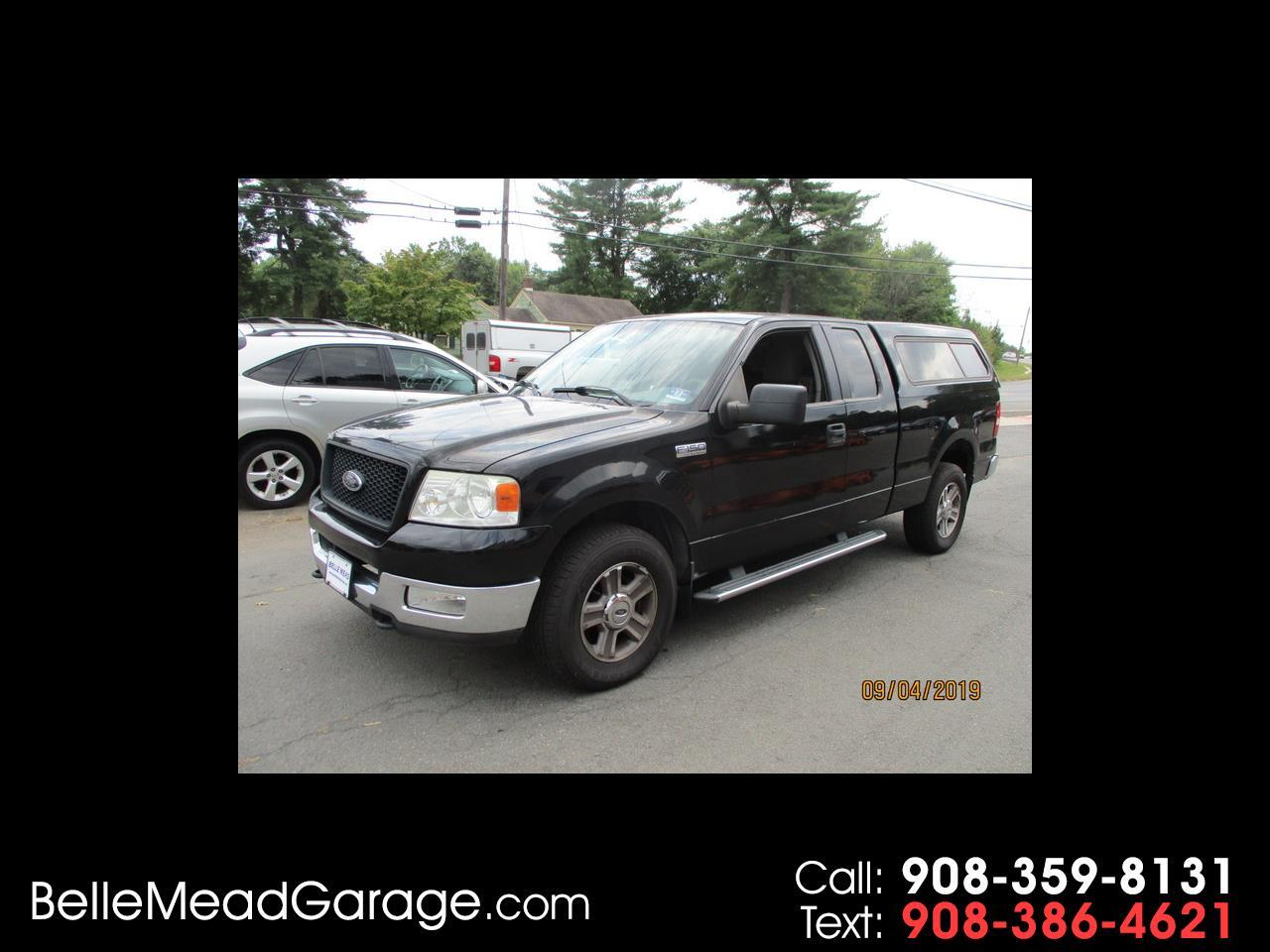 "Ford F-150 Supercab 145"" XLT 4WD 2005"