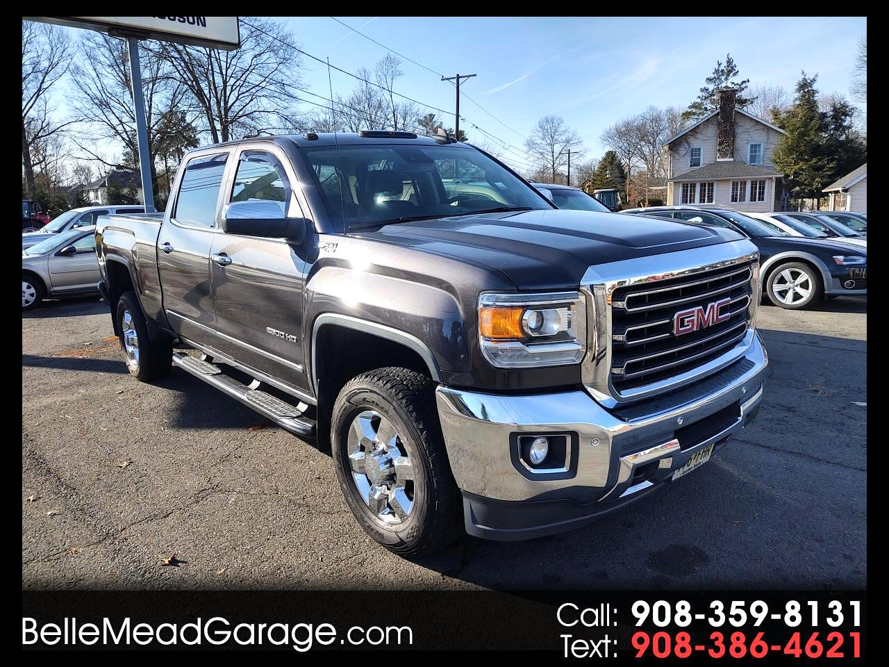 "GMC Sierra 2500HD available WiFi 4WD Crew Cab 153.7"" SLT 2015"