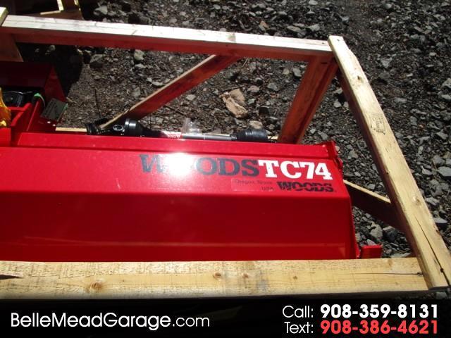 2017 Woods D184-2 ROTOTILLER  TC74MF6  74