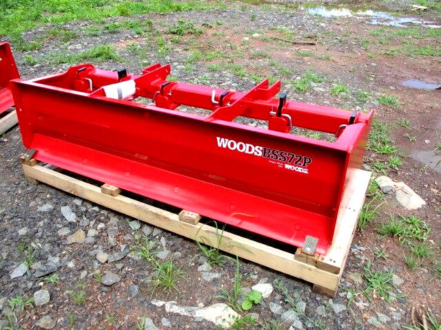 2017 Woods D184-2 BOX SCRAPER  72