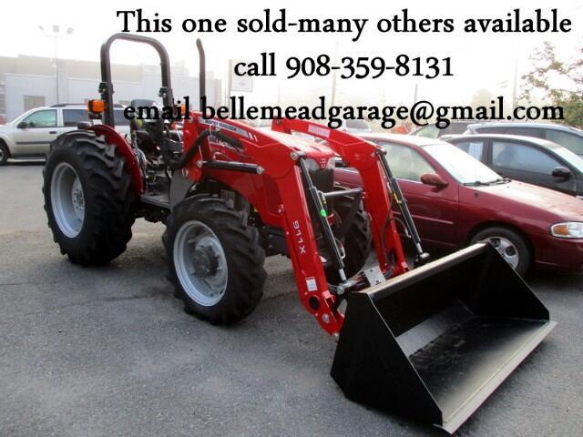 2017 Massey Ferguson Farm 2607H LOADER   MASSEY