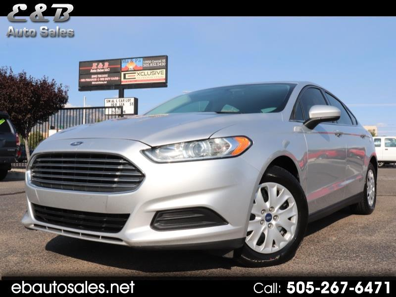 2014 Ford Fusion 4dr Sdn I4 S