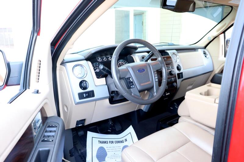 2012 Ford F-150 FX4 SuperCab 6.5-ft. Bed 4WD