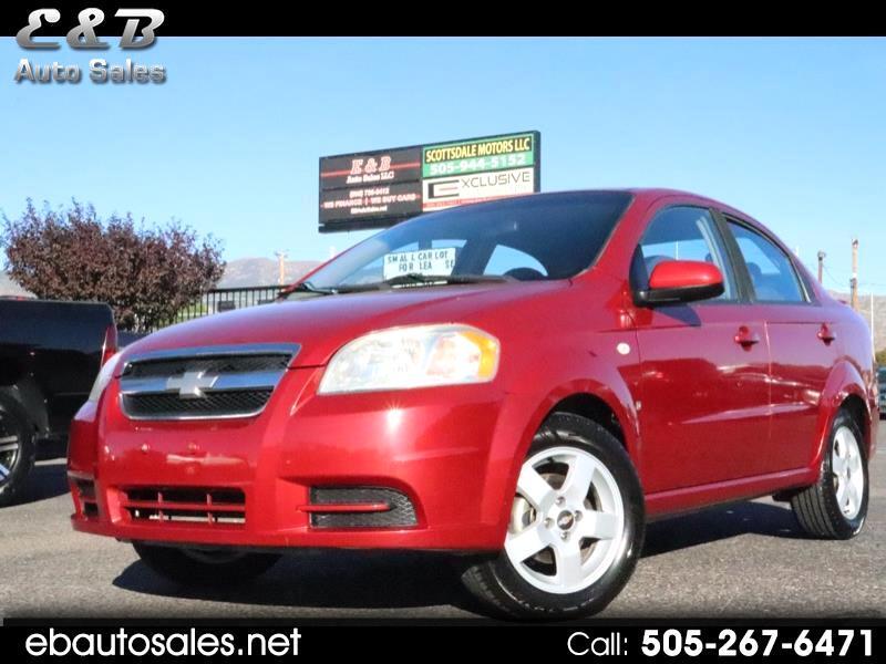 Chevrolet Aveo LT 4-Door 2007