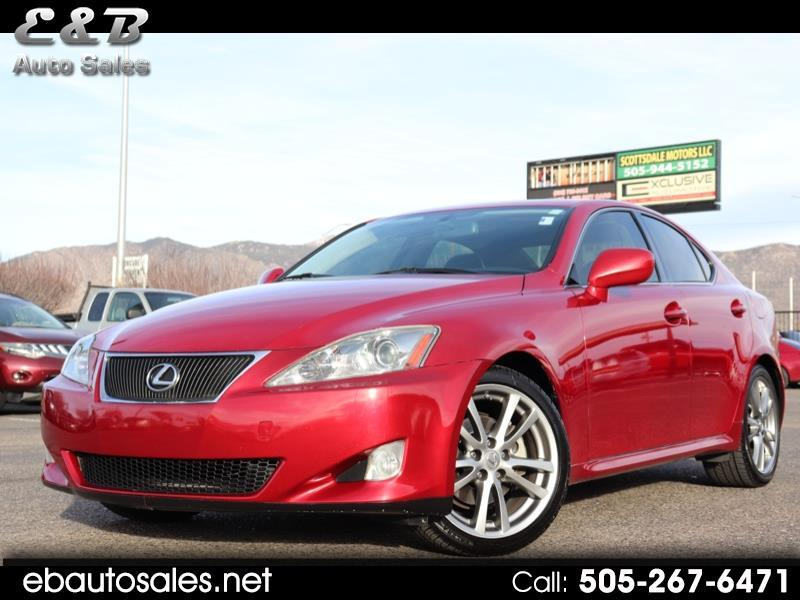 Lexus IS IS 250 6-Speed Sequential 2008