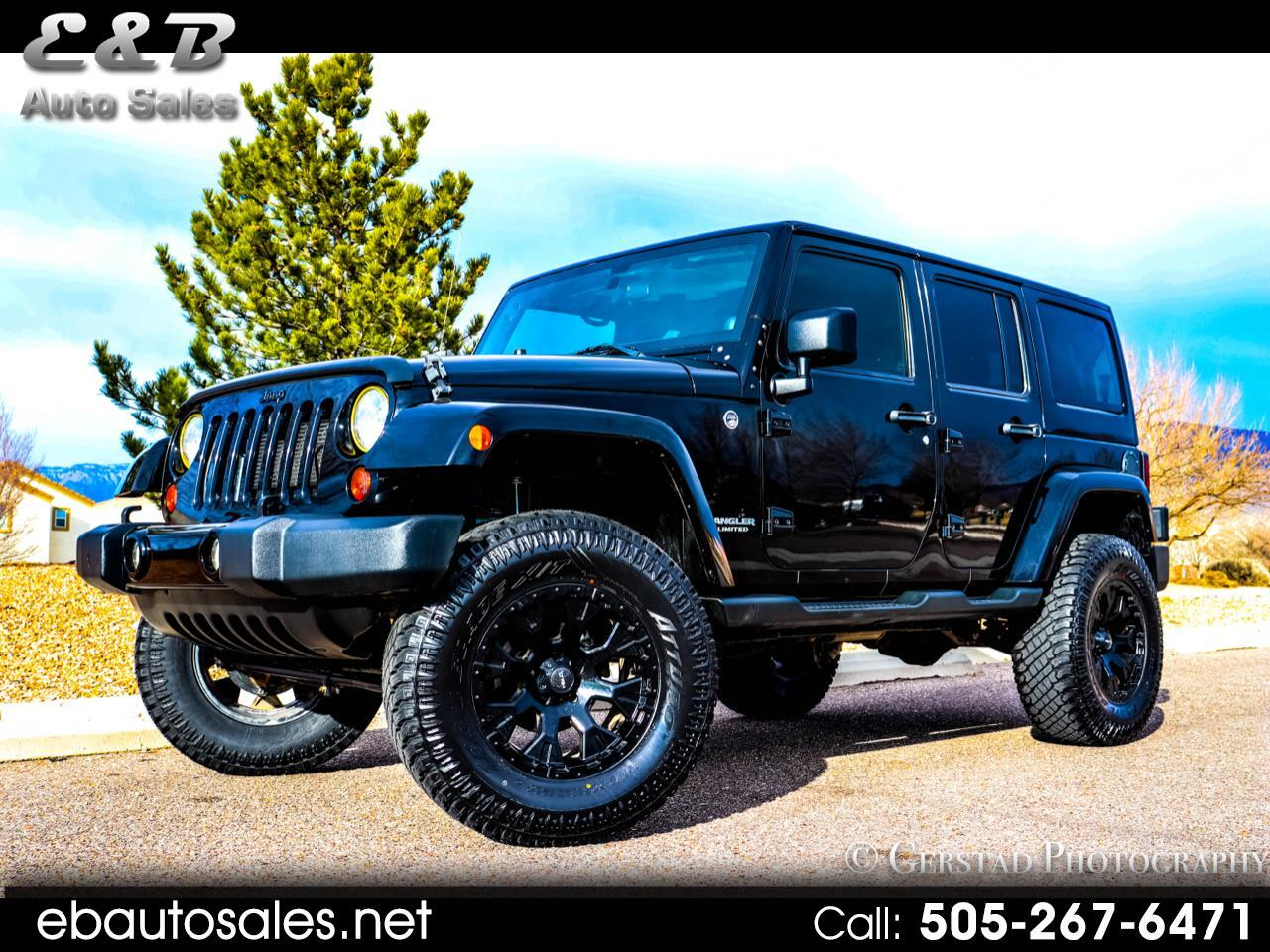 Jeep Wrangler 4WD 4dr Unlimited Sahara 2012