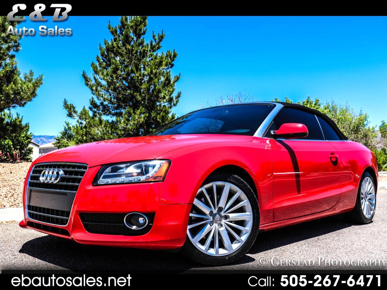 Audi A5 Cabriolet 2.0T FrontTrak Multitronic 2011