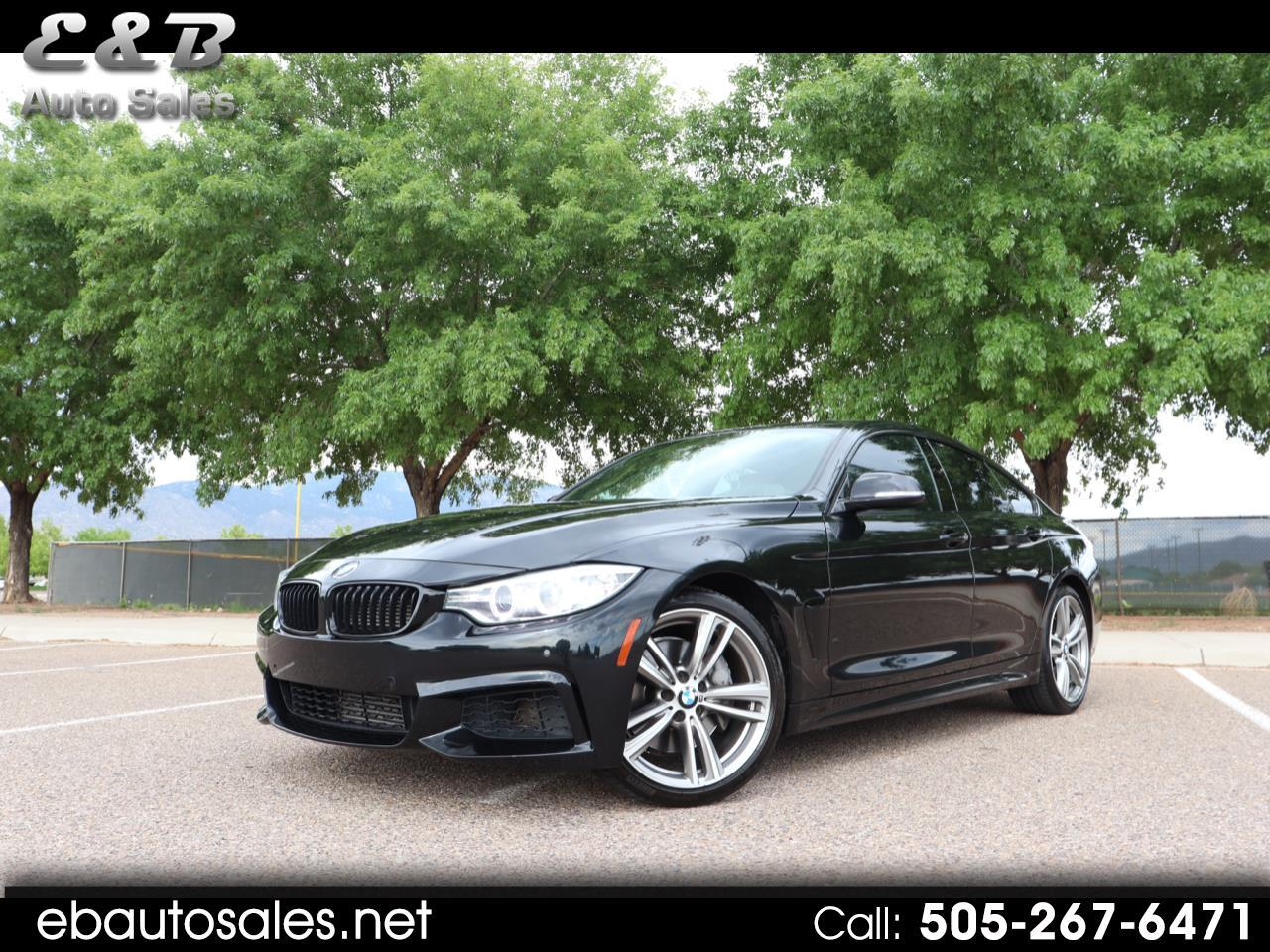 BMW 4-Series Gran Coupe 435i 2015