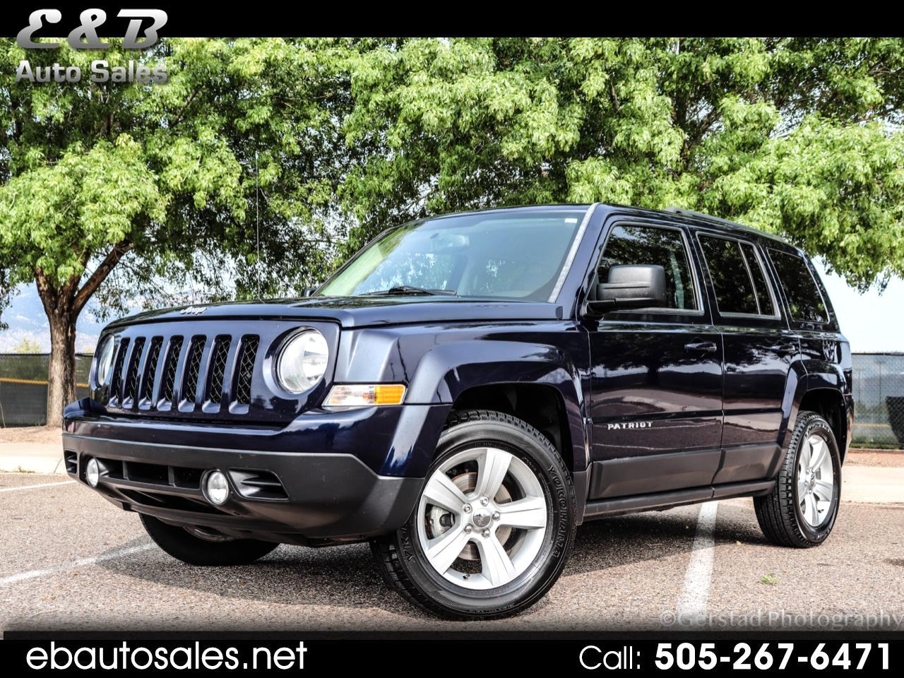 used 2016 jeep patriot latitude 4wd for sale in albuquerque nm 87123 e b auto sales e b auto sales