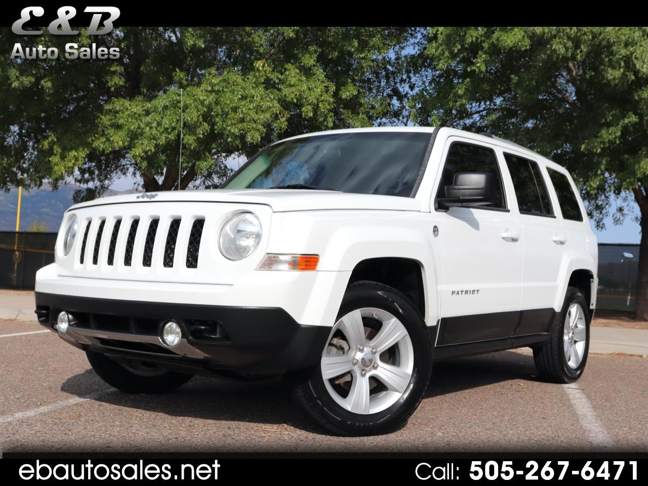 used 2011 jeep patriot latitude x 4wd for sale in albuquerque nm 87123 e b auto sales e b auto sales