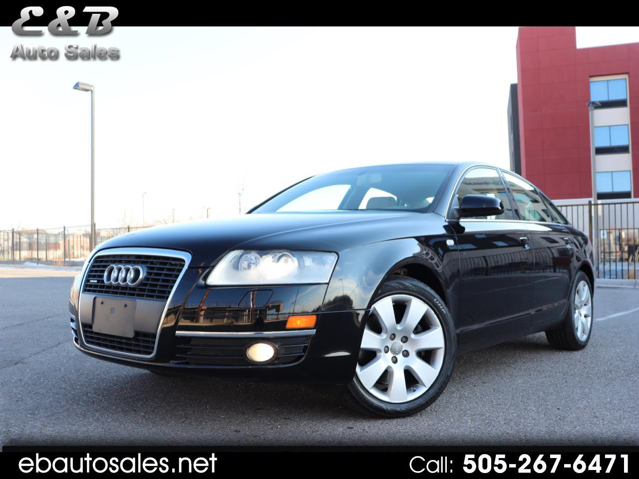 Audi A6 4.2 with Tiptronic 2007