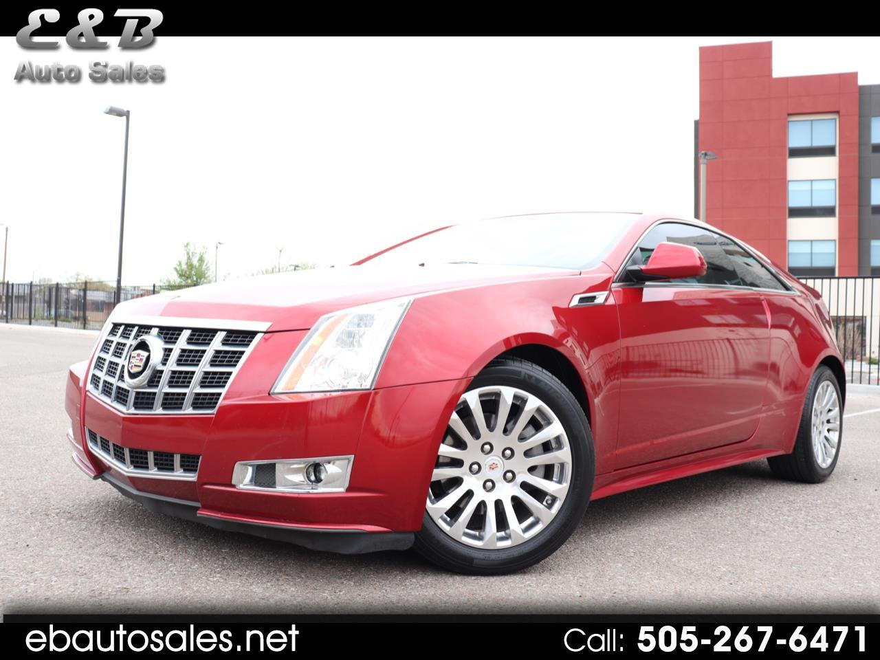 Cadillac CTS Coupe Premium RWD 2014