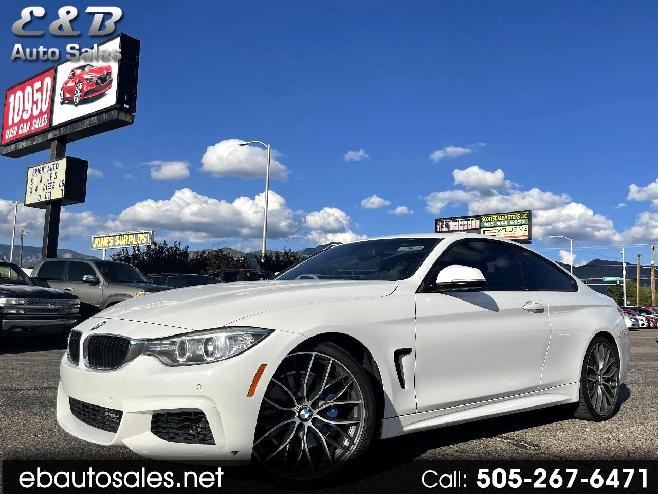 BMW 4-Series 428 coupe 2014