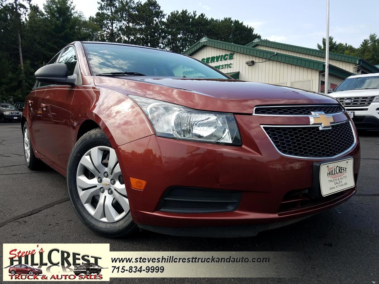 Chevrolet Cruze 4dr Sdn LS 2012