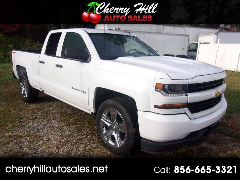 Chevrolet Silverado 1500 Custom Double Cab 4WD 2018