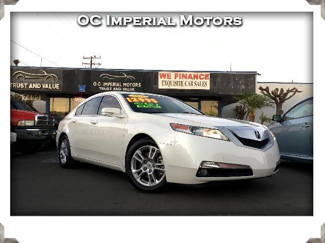 2010 Acura TL 5-Speed AT with Navigation System