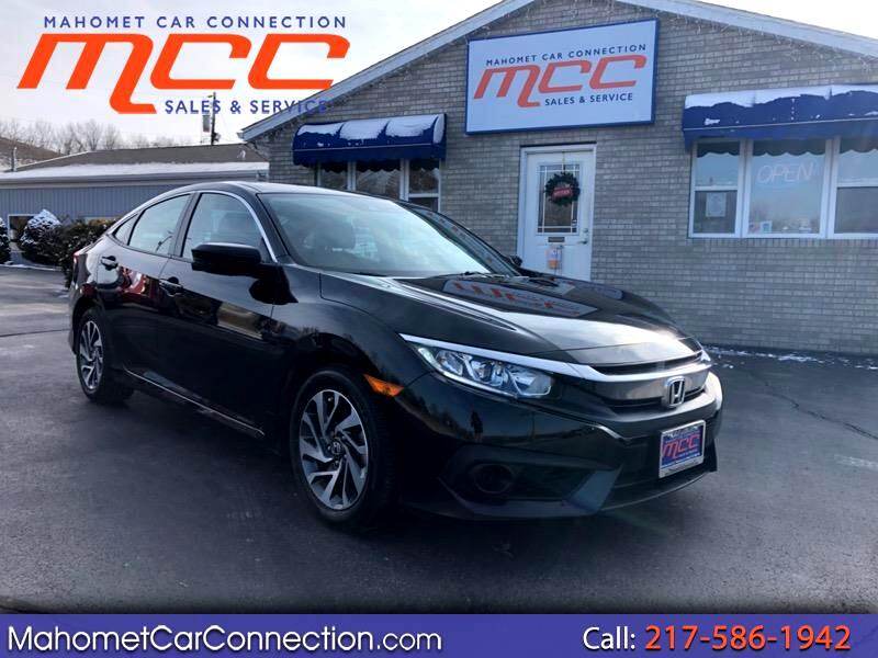 2018 Honda Civic EX Honda Sensing Sedan CVT