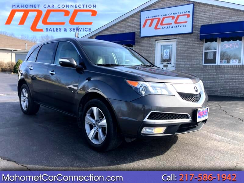 2012 Acura MDX 6-Spd AT