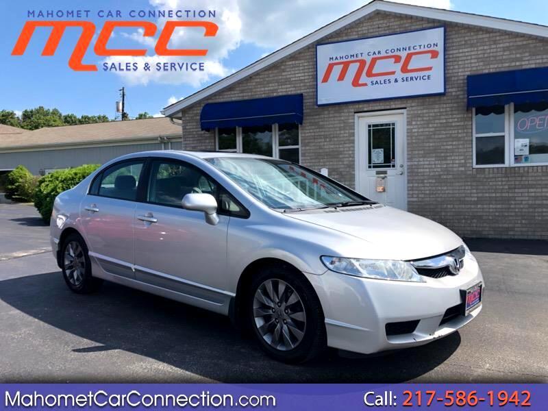 2009 Honda Civic EX Sedan 5-Speed MT