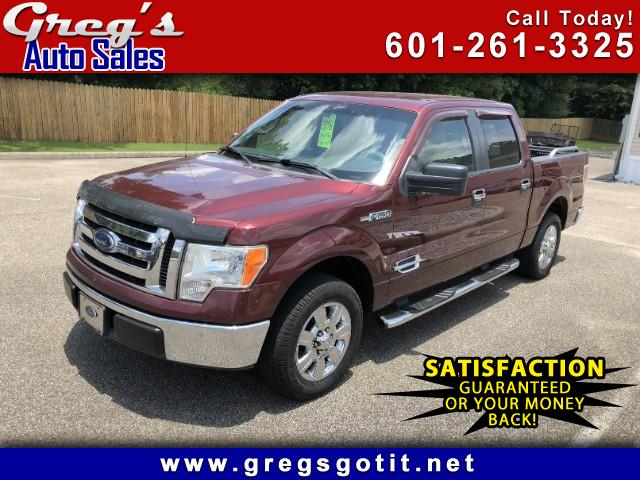 "2009 Ford F-150 2WD SuperCrew 150"" XLT"