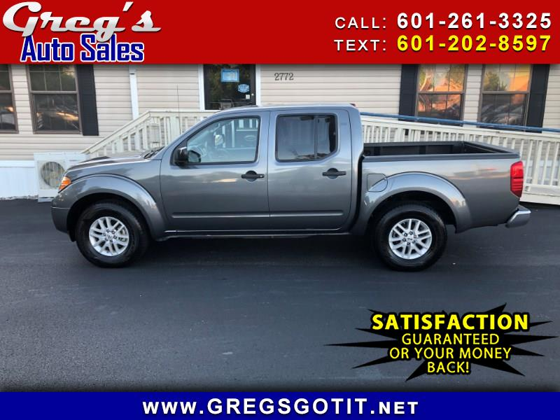2019 Nissan Frontier SV Crew Cab 5AT 2wd