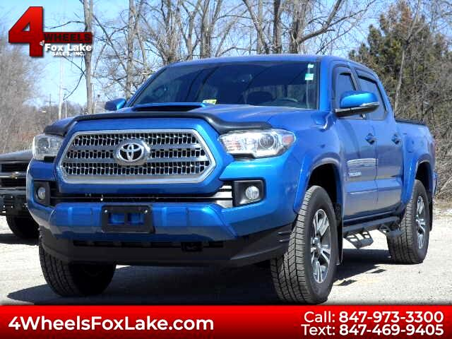 2017 Toyota Tacoma Double Cab V6 Manual 4WD