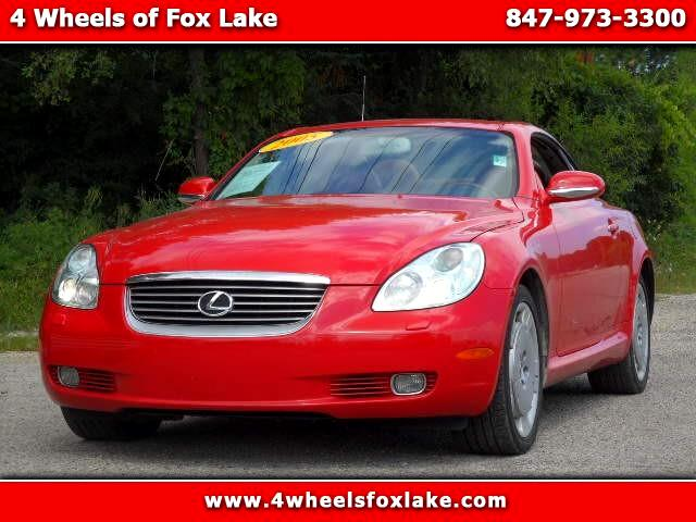 2005 Lexus SC 430 Convertible