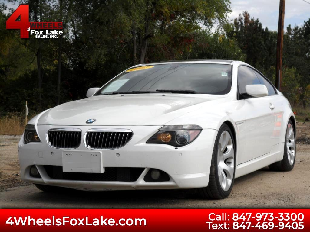 2007 BMW 6-Series 650i Coupe