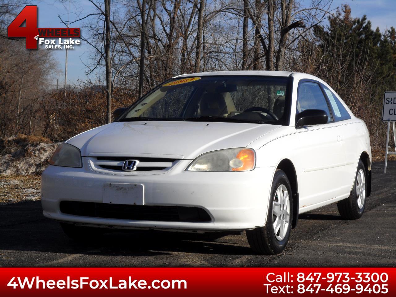 2003 Honda Civic LX coupe 4-spd AT
