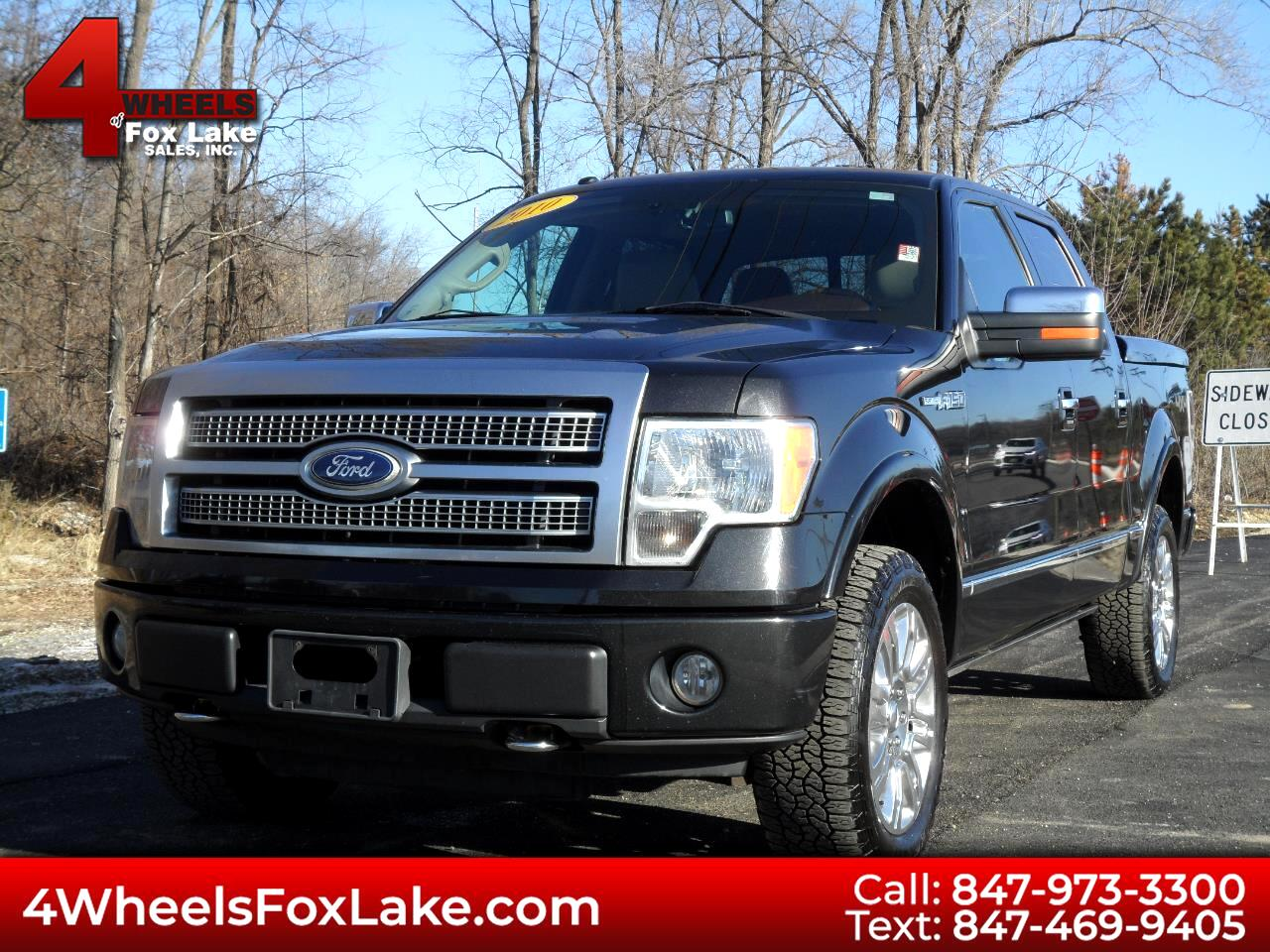 2010 Ford F-150 PLATINUM SUPERCREW 4WD
