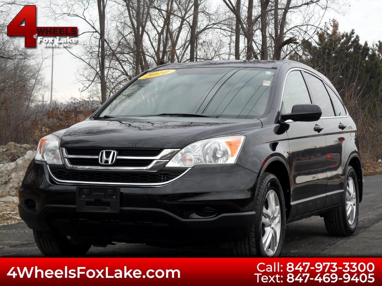 2010 Honda CR-V EX-L 4WD 5-Speed AT