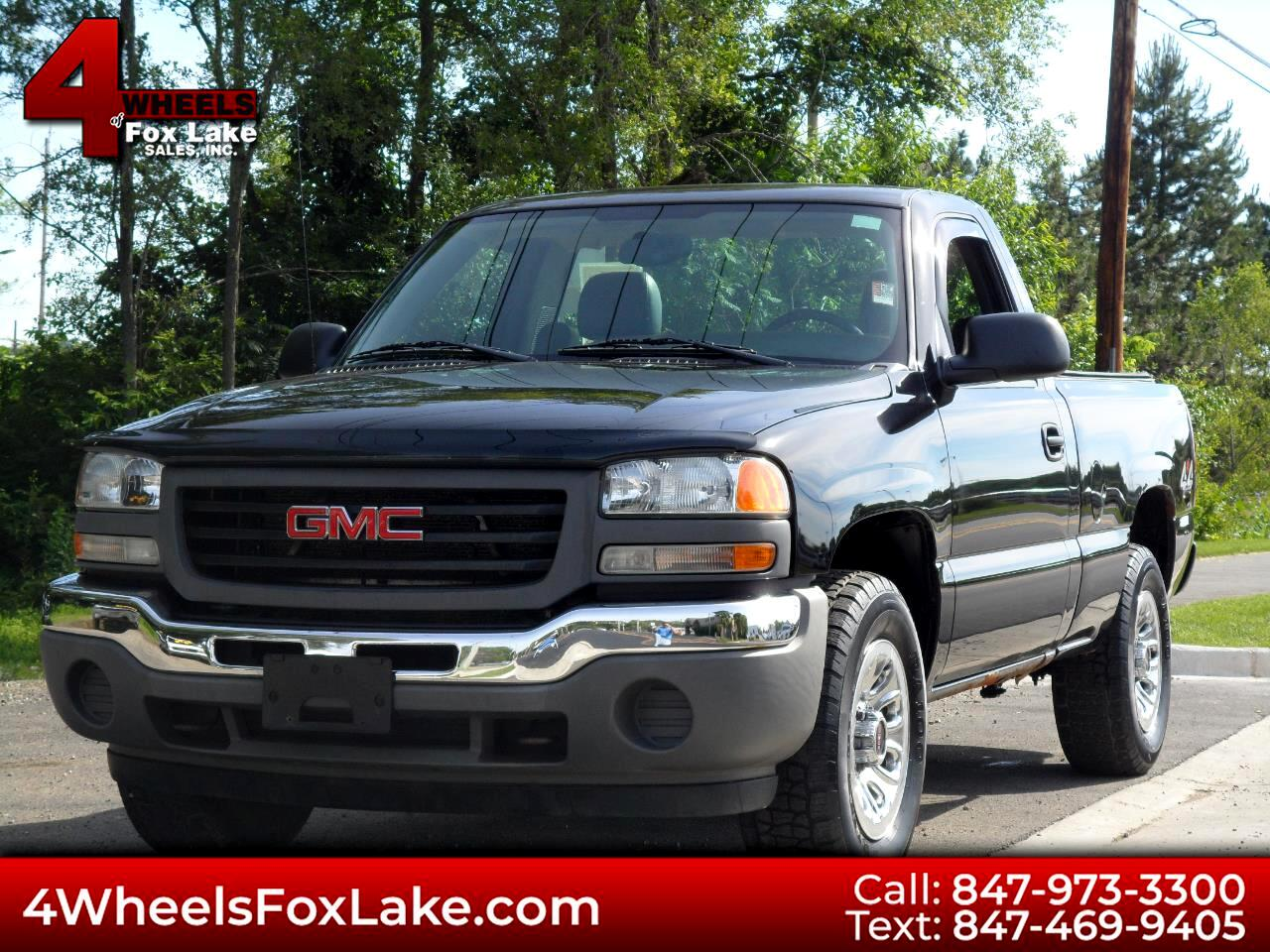 2005 GMC Sierra 1500 Short Bed 4WD
