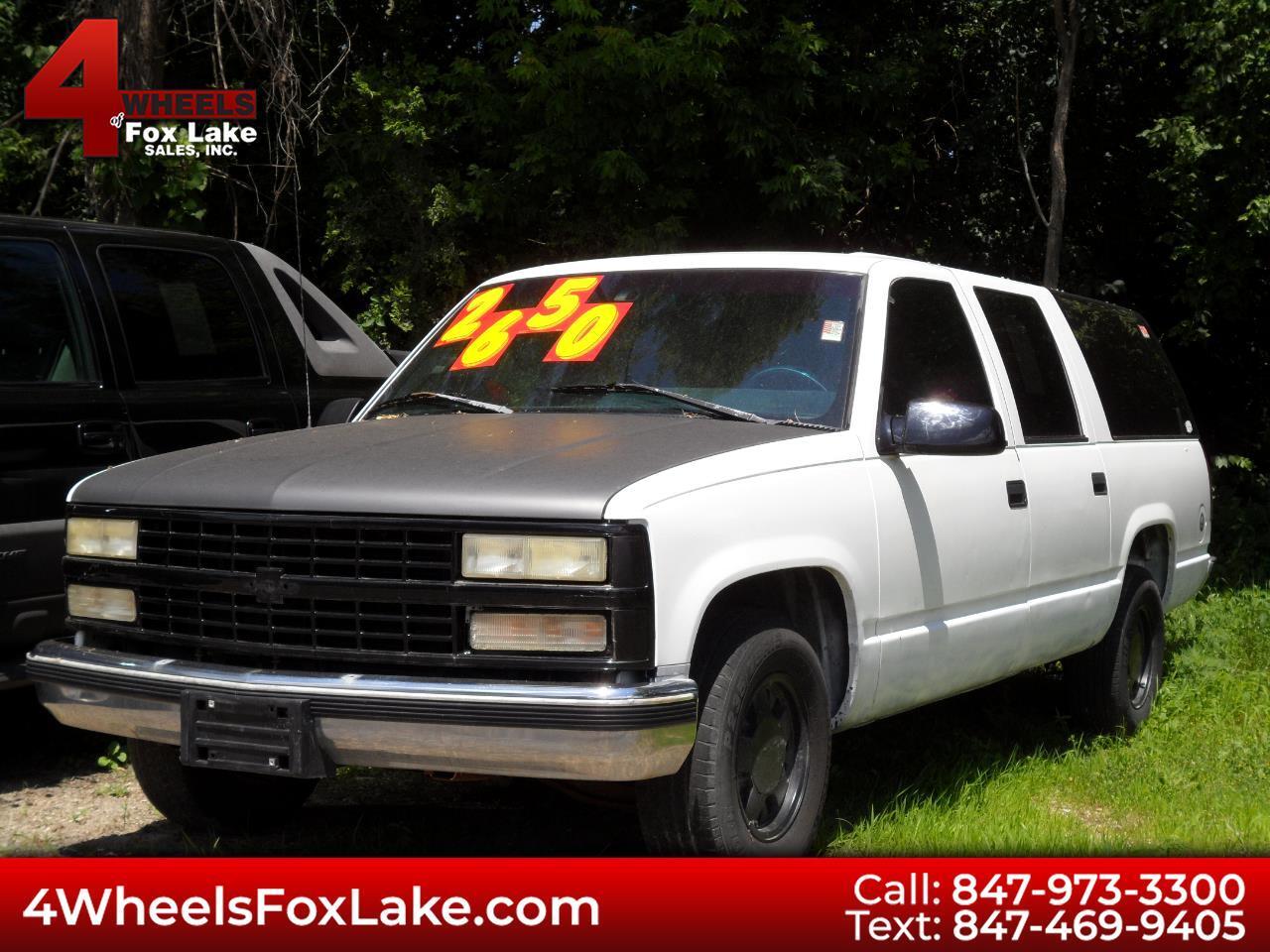 1996 Chevrolet Suburban C1500 2WD