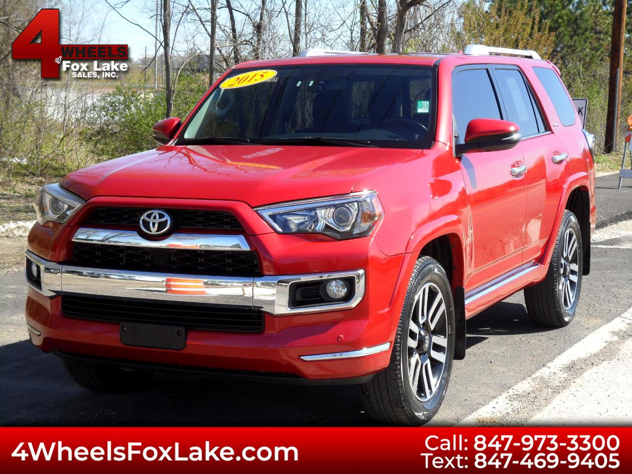 Toyota 4Runner Limited 4WD V6 2015