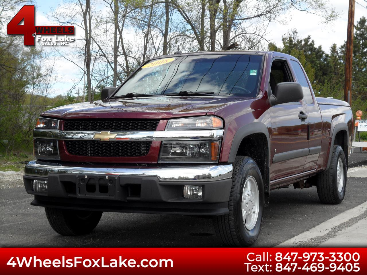 2008 Chevrolet Colorado Z-85 EXTENDED CAB 4WD