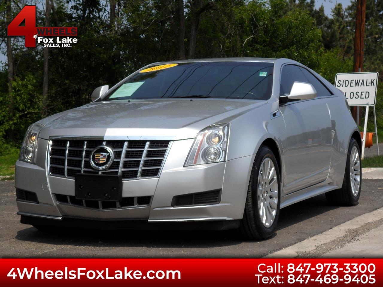 2012 Cadillac CTS 3.6 COUPE