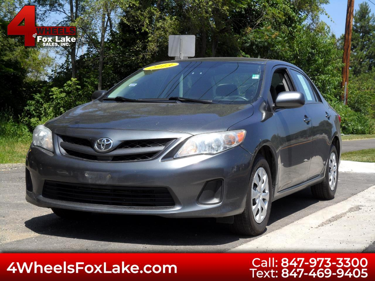 2013 Toyota Corolla LE 5-Speed MT