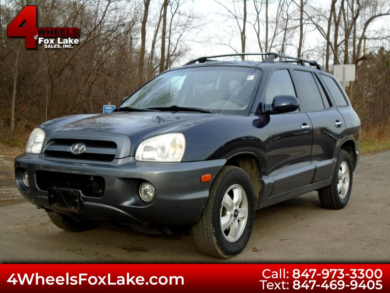 Hyundai Santa Fe GLS 3.5L 4WD 2005