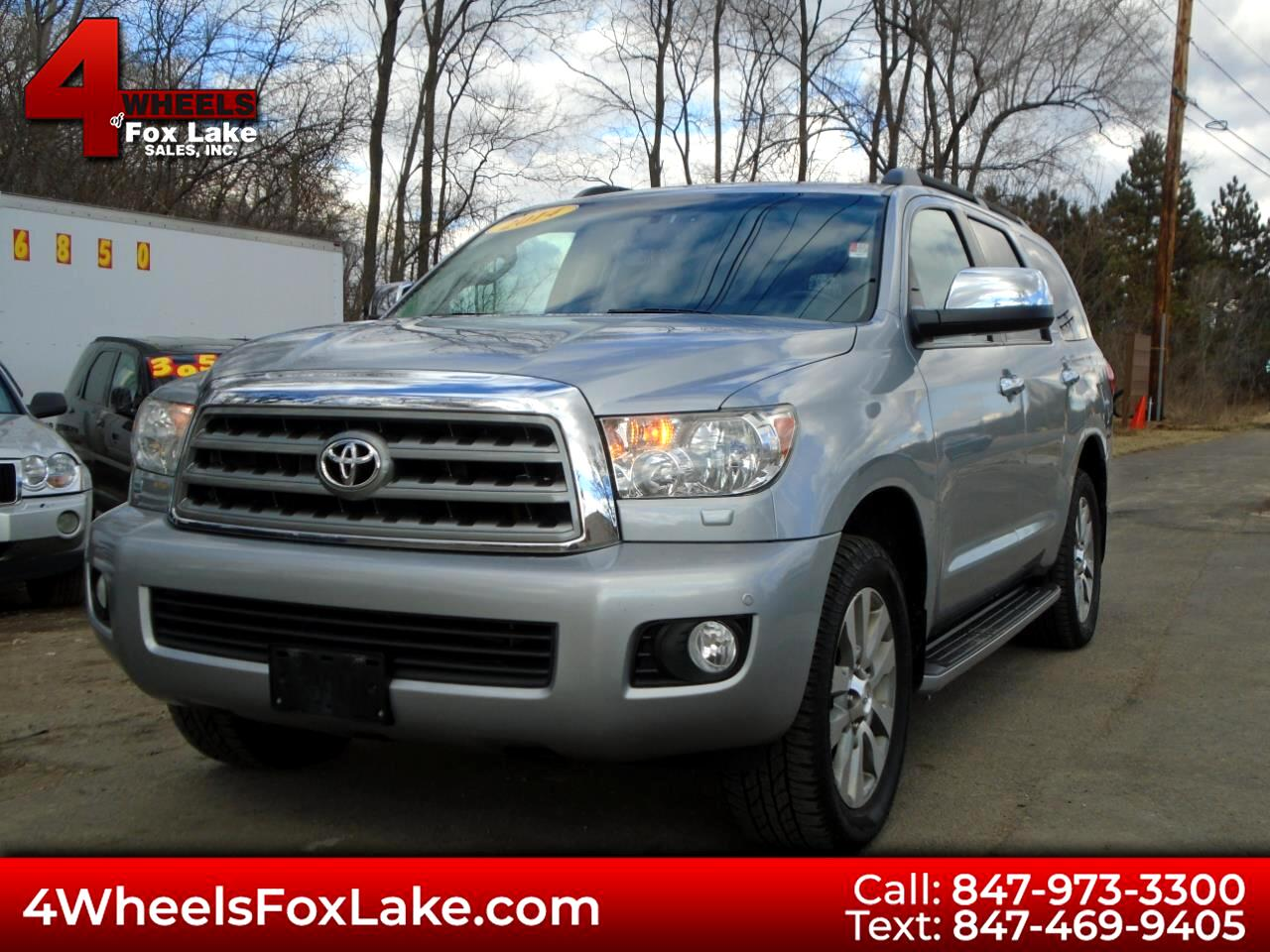 Toyota Sequoia Limited 4WD FFV 2014