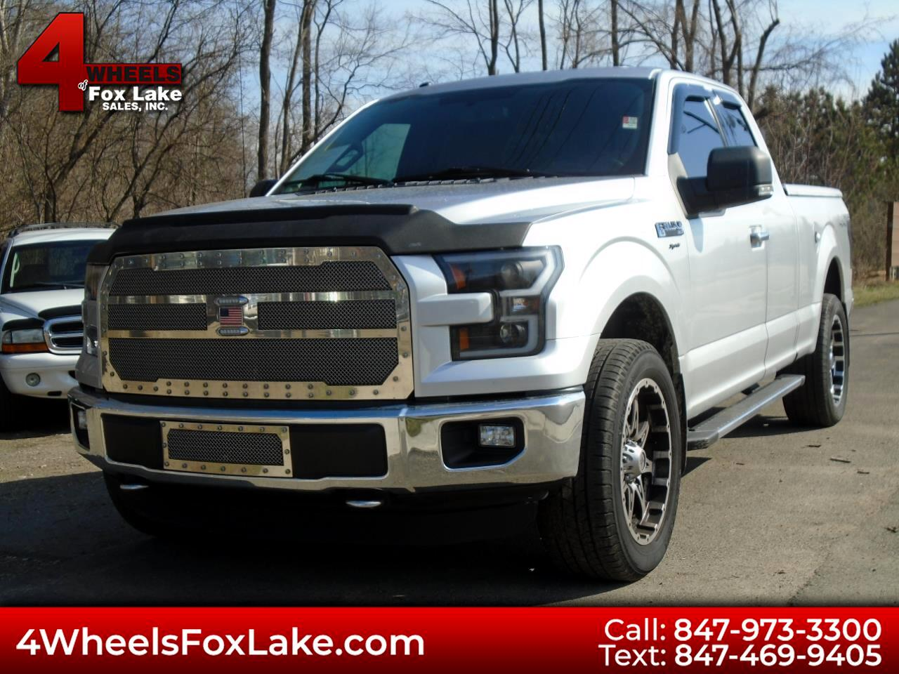 Ford F-150 Lariat SuperCab 6.5-ft. Bed 4WD 2015