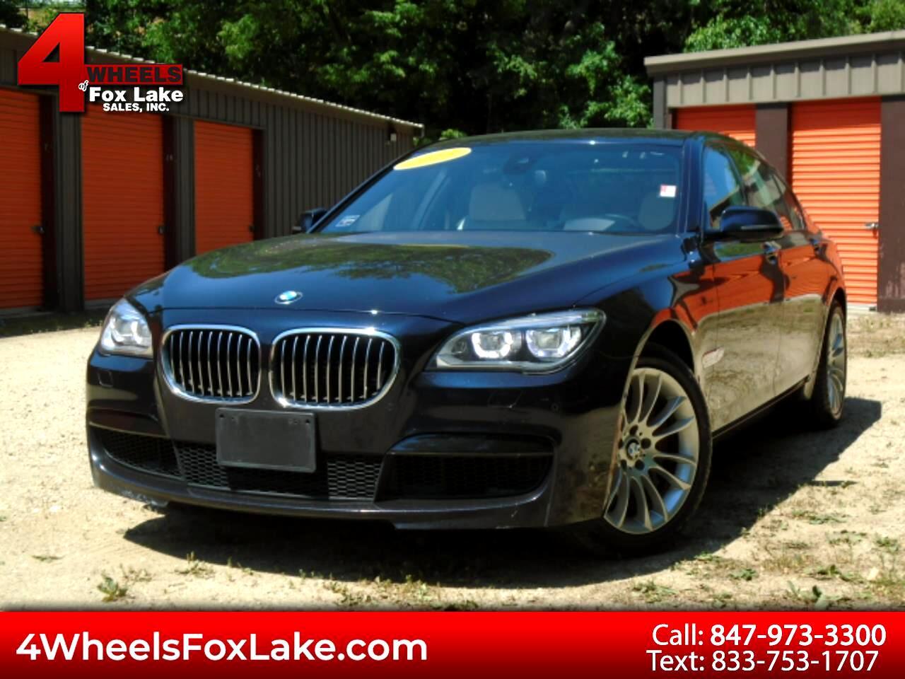 BMW 7 Series 4dr Sdn 750Li xDrive AWD 2013