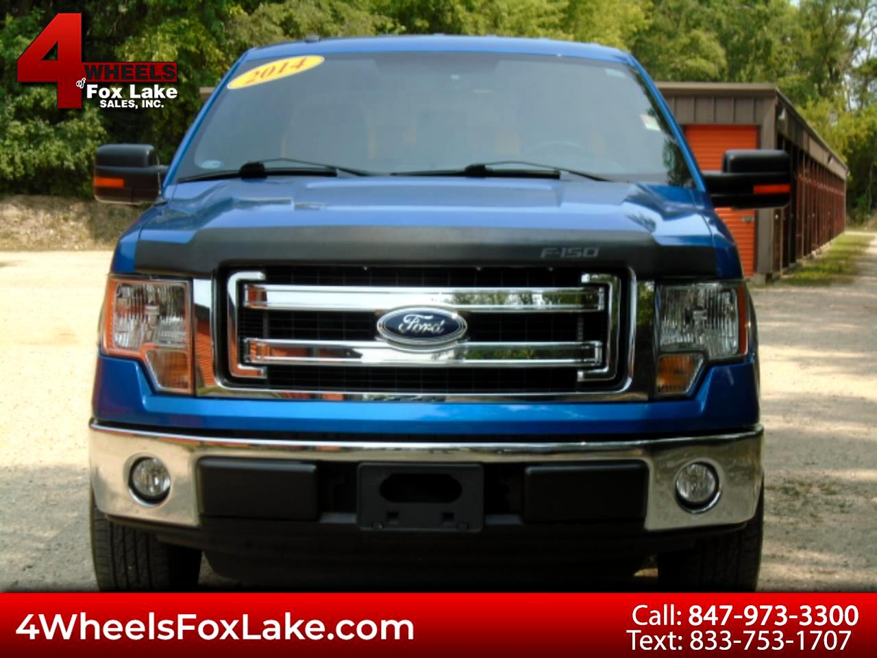 "Ford F-150 2WD SuperCab 145"" XLT 2014"