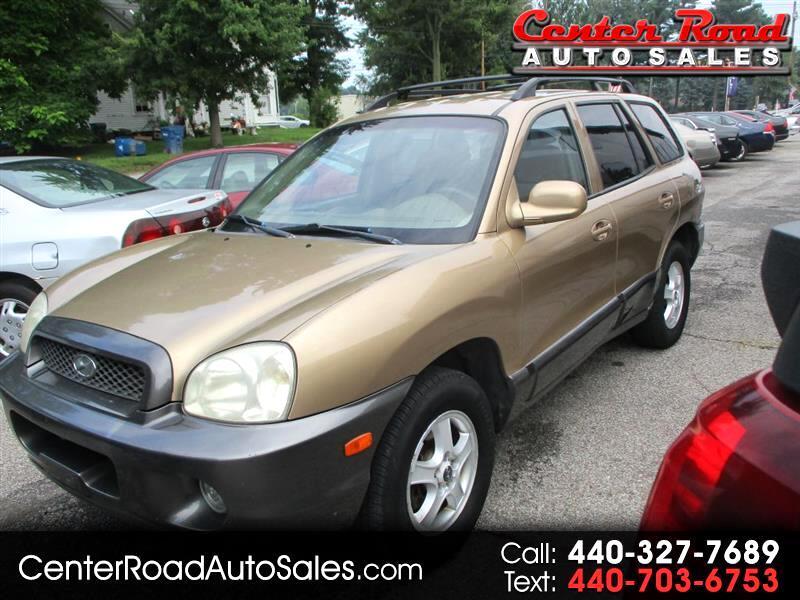Hyundai Santa Fe GLS 2003