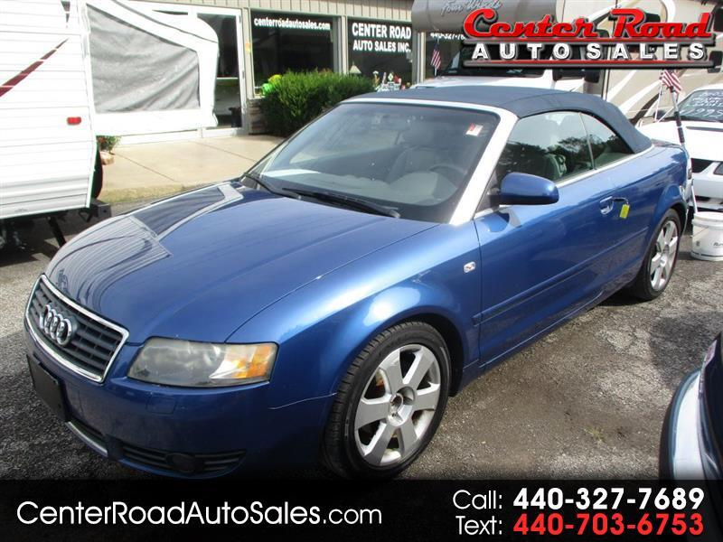 Audi A4 1.8T Cabriolet 2004