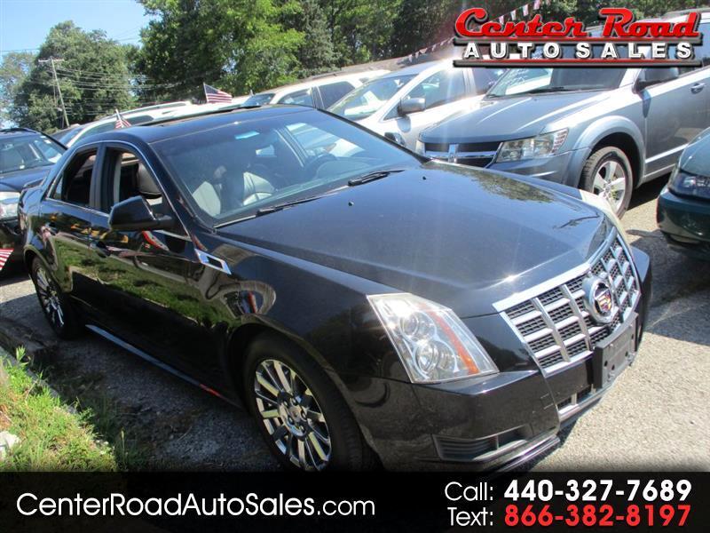 Cadillac CTS Base AWD 2012