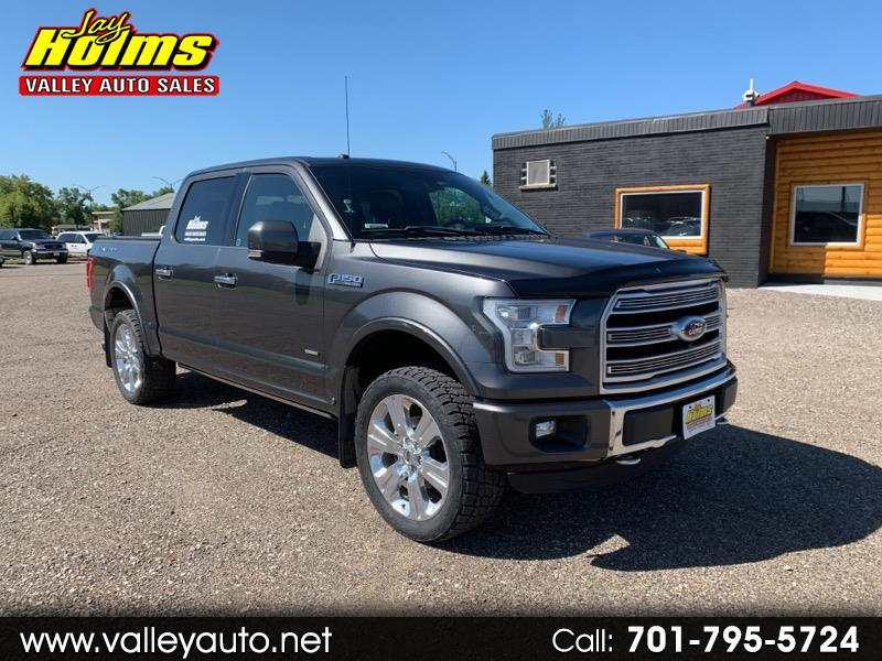 "Ford F-150 4WD SuperCrew 145"" Limited 2016"