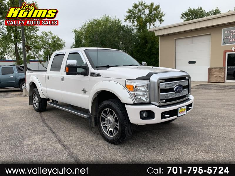 "Ford Super Duty F-350 SRW 4WD Crew Cab 156"" Platinum 2014"