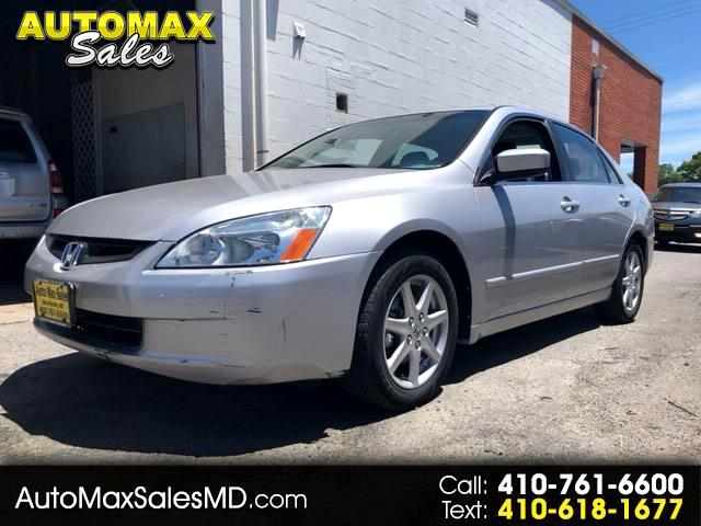 2003 Honda Accord EX V6 sedan AT