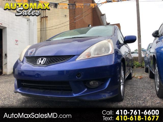 Honda Fit Sport 5-Speed AT with Navigation 2009
